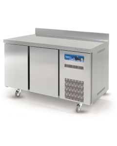 This is an image of a Lec 2 Door Refrigerated Counter Freezer WFC2DR
