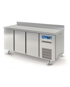 This is an image of a Lec 3 Door Refrigerated Counter Freezer WFC3DR