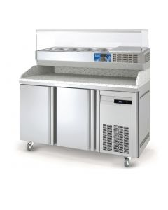 This is an image of a Lec 2 Door Pizza Counter PC2DR