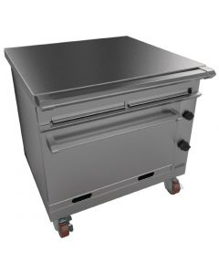 This is an image of a Falcon Chieftain General Purpose Oven Castors NAT (Direct)