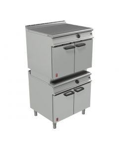This is an image of a Falcon Dominator Plus Two Tier General Purpose Oven NAT (Direct)