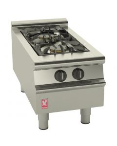 This is an image of a Falcon Dominator Plus 2 Burner Boiling Top LPG G3122