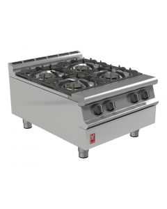 This is an image of a Falcon Dominator Plus 4 Burner Boiling Top LPG G3124