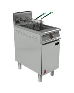 This is an image of a Falcon Dominator Plus Twin Basket Fryer with Filtration LPG (Direct)