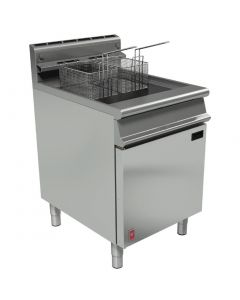 This is an image of a Falcon Dominator Plus Twin Basket Fryer NAT (Direct)