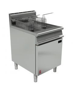 This is an image of a Falcon Dominator Plus Twin Pan Fryer LPG (Direct)