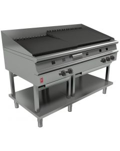 This is an image of a Falcon Dominator Plus Chargrill On Fixed Stand LPG G31525