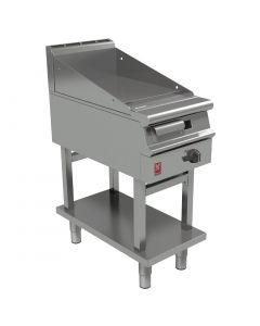 This is an image of a Falcon Dominator Plus 400mm Wide Smooth Griddle on Fixed Stand NAT (Direct)