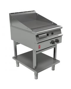 This is an image of a Falcon Dominator Plus 600mm Wide Smooth Griddle on Fixed Stand NAT (Direct)