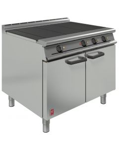 This is an image of a Falcon Dominator Plus 3 Hotplate Electric Oven Range (Direct)