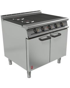 This is an image of a Falcon Dominator Plus 4 Hotplate Electric Oven Range (Direct)