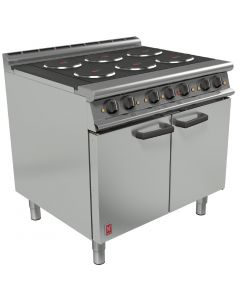 This is an image of a Falcon Dominator Plus 6 Hotplate Electric Oven Range (Direct)