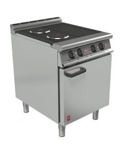 This is an image of a Falcon Dominator Plus 3 hotplate Electric Oven Range 600mm Wide (Direct)
