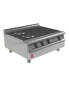 This is an image of a Falcon Dominator Plus 4 Hotplate Boiling Top E3121