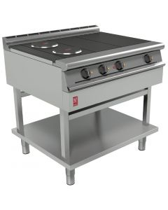 This is an image of a Falcon Dominator Plus 4 Hotplate Boiling Table E3121