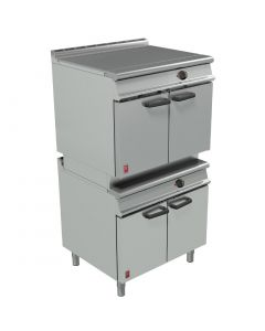 This is an image of a Falcon Dominator Plus Two Tier General Purpose Oven Electric (Direct)