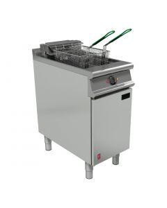 This is an image of a Falcon Dominator Plus Twin Basket Fryer E3840