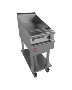 This is an image of a Falcon Dominator Plus 400mm Wide Smooth Griddle on Mobile Stand (Direct)