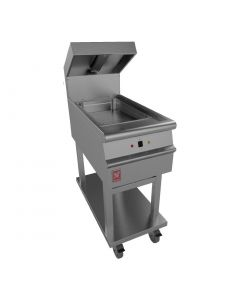 This is an image of a Falcon Dominator Plus Chip Scuttle on Mobile Stand E3405