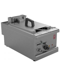 This is an image of a Falcon 350 Series Countertop Single Pan Twin Basket Electric Fryer (Direct)