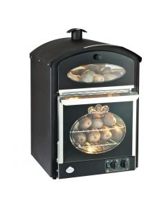 This is an image of a King Edward Bake King Mini Oven Black BKM-BLK