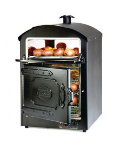 This is an image of a King Edward Classic 50 Potato Baker Black CLASS50