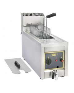 This is an image of a Roller Grill Single Tank Countertop Fryer RF8