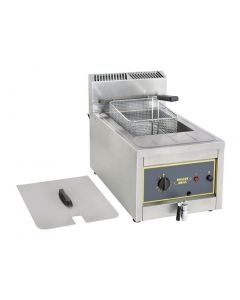This is an image of a Roller Grill Single Tank Countertop Fryer RFG12