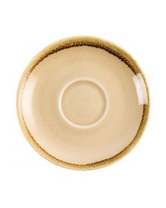 This is an image of a Olympia Kiln Sandstone Saucer (for GP330) - 140mm (Box 6)