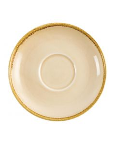 This is an image of a Olympia Kiln Sandstone Saucer (for GP332) - 160mm (Box 6)