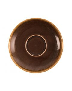 This is an image of a Olympia Kiln Bark Saucer (for GP364) - 160mm (Box 6)
