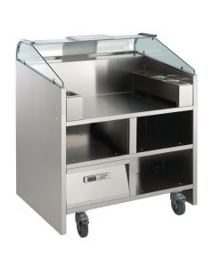 This is an image of a Electrolux 2 Point Mobile Cooking Unit NELP2G (Direct)