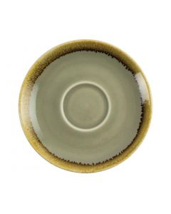 This is an image of a Olympia Kiln Moss Saucer (for GP478) - 140mm (Box 6)