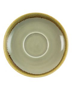 This is an image of a Olympia Kiln Moss Saucer (for GP480) - 160mm (Box 6)