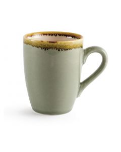 This is an image of a Olympia Kiln Moss Mug - 340ml 12oz (Box 6)
