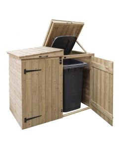 This is an image of a Rowlinson Apex Wooden Bin Store