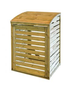 This is an image of a Rowlinson Wooden Single Bin Store