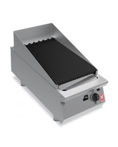 This is an image of a Falcon F900 400mm Wide Chargrill Natural Gas (Direct)