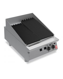 This is an image of a Falcon F900 600mm Wide Chargrill Nat
