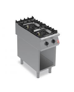 This is an image of a Falcon F900 Two Burner Boiling Hob on Fixed Stand Propane Gas G9042