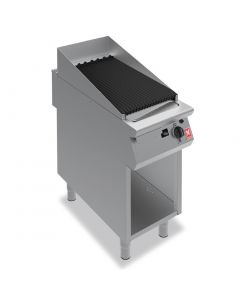 This is an image of a Falcon F900 400mm Wide Chargrill on Fixed Stand Natural Gas (Direct)