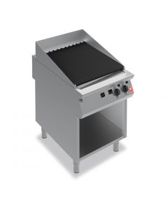 This is an image of a Falcon F900 600mm Wide Chargrill on Fixed Stand Natural Gas (Direct)