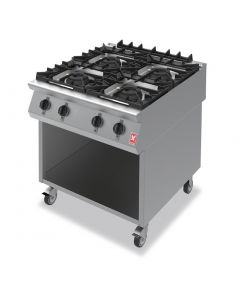 This is an image of a Falcon F900 Four Burner Boiling Hob on Mobile Stand Propane Gas G9084A