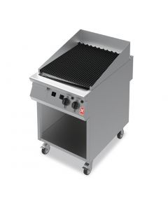 This is an image of a Falcon F900 Chargrill on Mobile Stand Propane Gas G9460