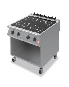 This is an image of a Falcon F900 Four Zone Induction Hob on Mobile Stand i9085