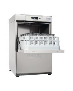 This is an image of a Classeq G400 Duo WS Glasswasher with install