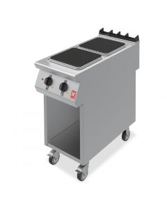This is an image of a Falcon F900 Two Hotplate Boiling Top on Mobile Stand E9042
