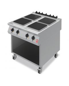 This is an image of a Falcon F900 Four Hotplate Boiling Top on Mobile Stand E9084