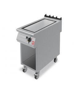 This is an image of a Falcon F900 Smooth Steel 400mm Griddle on Mobile Stand E9541