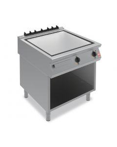 This is an image of a Falcon F900 Smooth Steel 800mm Griddle on Fixed Stand E9581